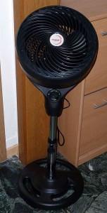 Kein Ventilator, sondern ein Zirkulator soll die Luft verteilen. Die Teile sind schweineteuer.