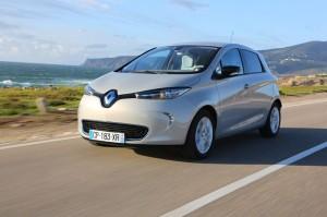 Endlich: Renault Zoe hat als erstes Elektroauto fünf Sterne beim ADAC EcoTest erhalten. Foto: Renault