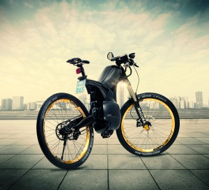 Kräftige 1000 Watt leistet der Elektromotor. Foto: eVinci Mobility GmbH