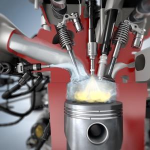 So funktioniert die Wassereinspritzung. Bild: Bosch