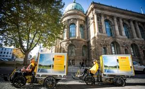 Test in Stuttgart für mehr Platz bei der Paketzustellung. Foto: Deutsche Post DHL Group